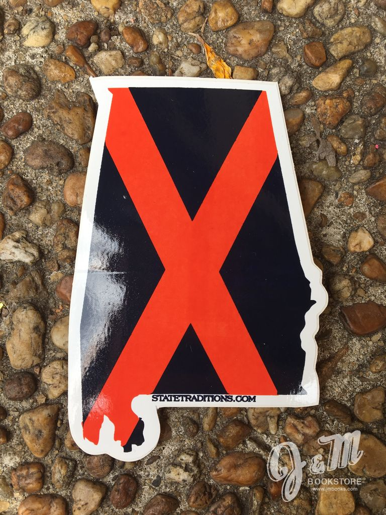 State Traditions Auburn Alabama Traditional Decal
