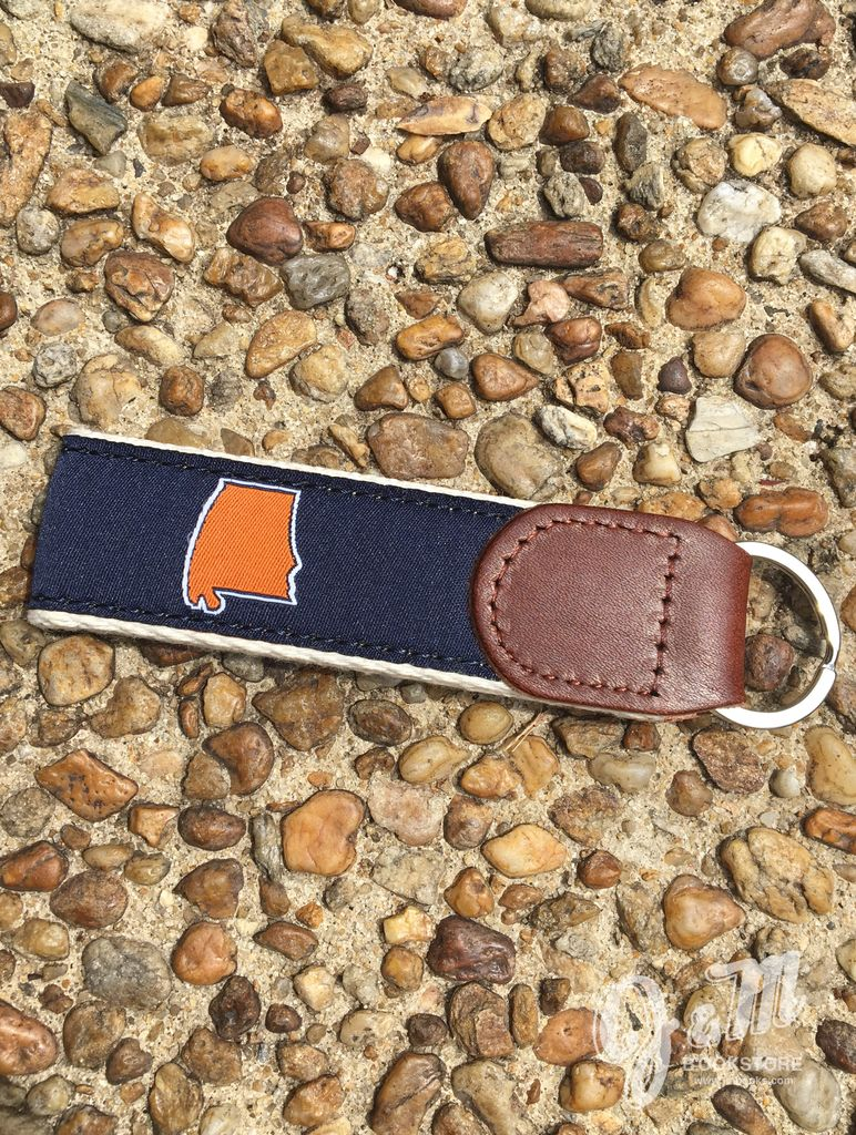 State Traditions Auburn Alabama Gameday Key Fob