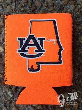 State of Auburn AU Koozie - Orange