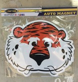 "12"" Aubie Head Magnet"
