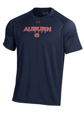 Under Armour Auburn Tigers Tech T-Shirt