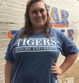MV Sport Tigers Auburn University Three Bar T-Shirt