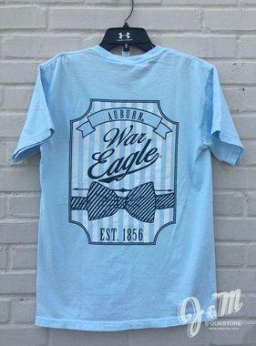 MV Sport Auburn War Eagle Bowtie Established 1856 T-Shirt