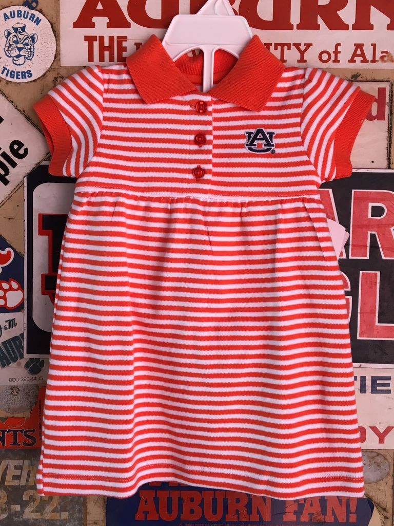 Infant Striped Gameday Dress
