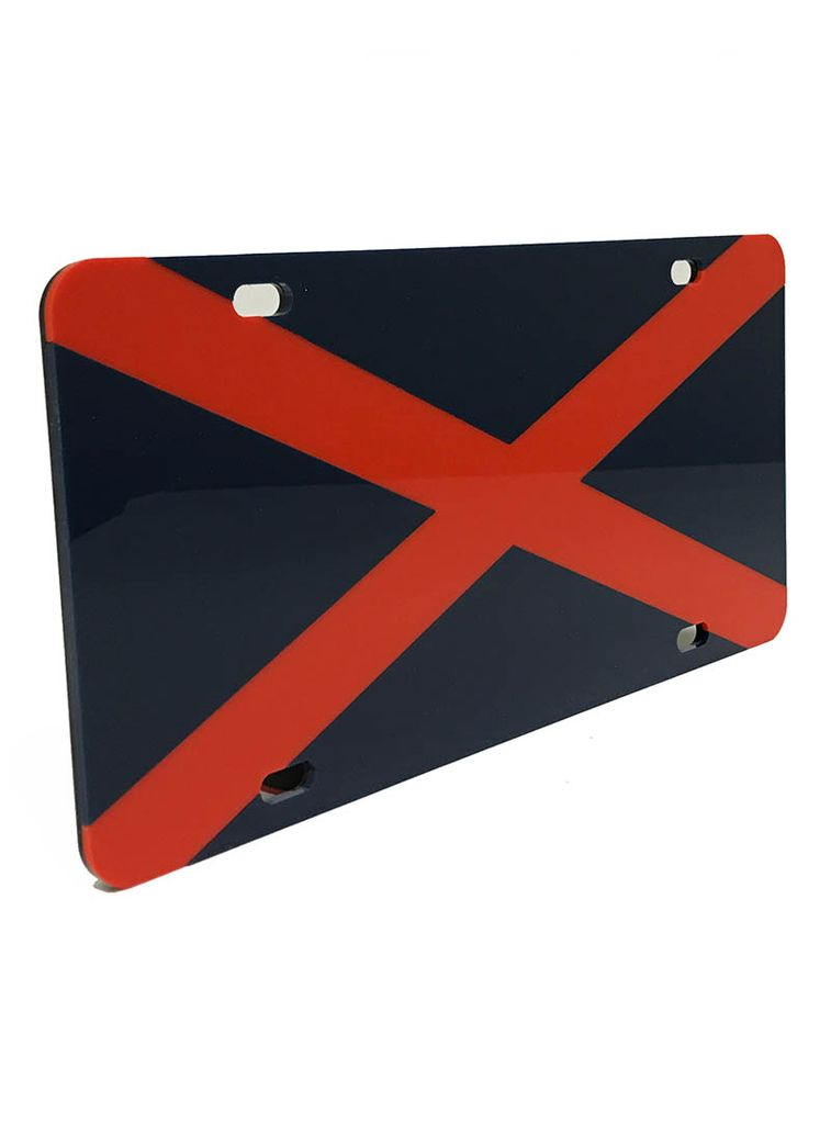 State Flag License Plate