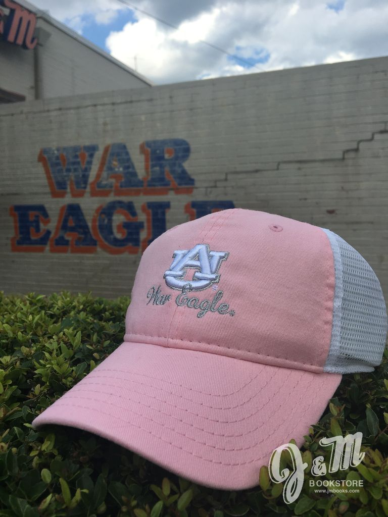 The Game AU Script War Eagle Pink Hat with White Mesh