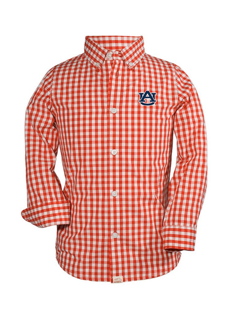 AU Logan Long Sleeve Button Down