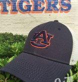 The Game AU Interlock Navy Hat with Stone Mesh