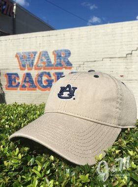 The Game Khaki Hat with Navy AU