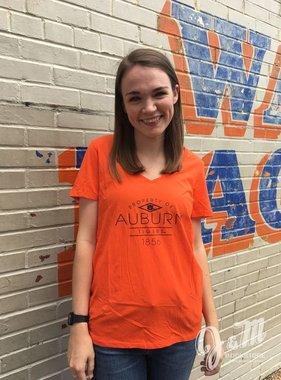 Property of Auburn Tigers 1856 V-Neck T-Shirt
