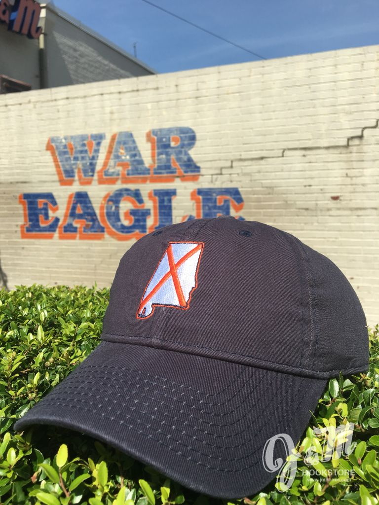 The Game Alabama Outline State Flag Hat