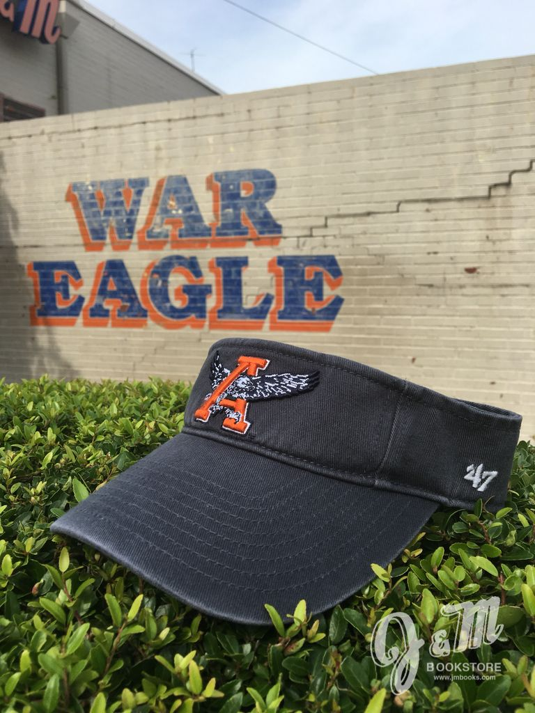 47 Brand Eagle Through A Vintage Navy Visor