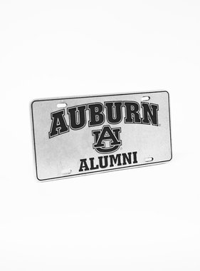 Arch Arburn Alumni Engraved Pewter Car Tag