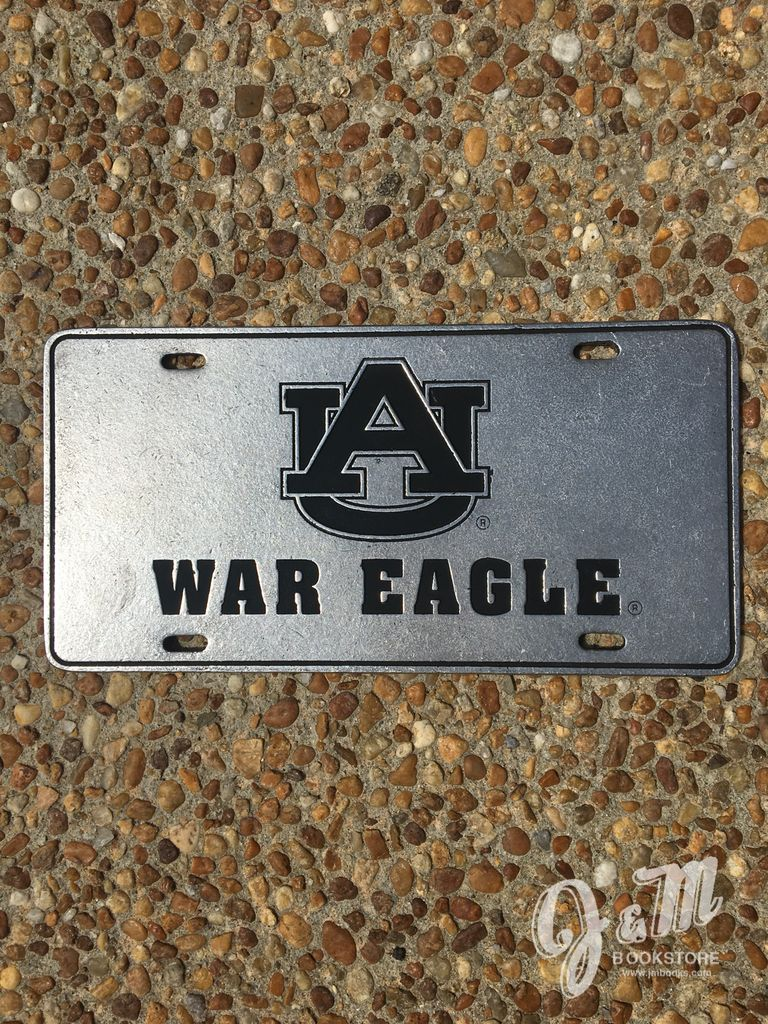 Recessed AU War Eagle Plate