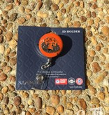Aubie Retractable Badge Holder