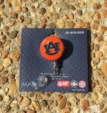AU Retractable Badge Holder Orange