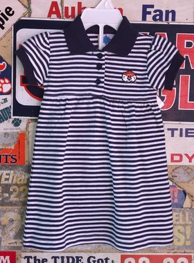 Infant Striped Gameday Dress