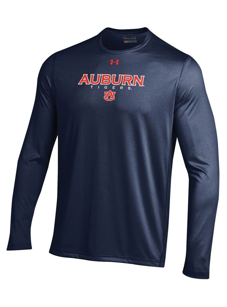 Under Armour Auburn Tigers Tech Long Sleeve