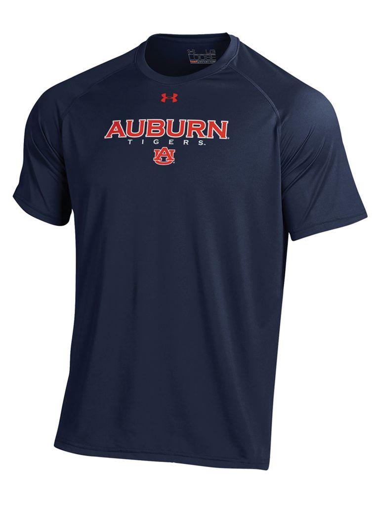 Under Armour Auburn Tigers Tech T-Shirt