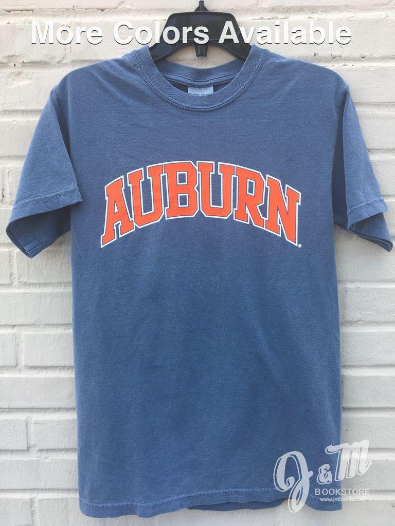 Design t shirt comfort colors -  Mv Sport Arch Auburn Comfort Color T Shirt J M Book