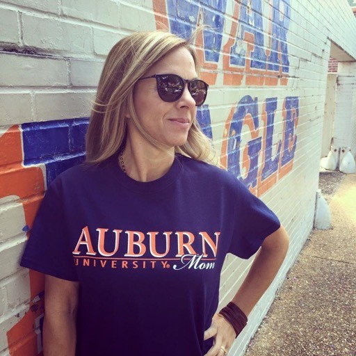 MV Sport Auburn Bar University Mom T-Shirt