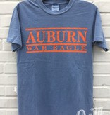 MV Sport Auburn War Eagle Three Bar T-Shirt