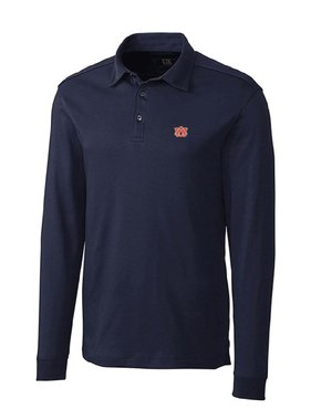 Cutter & Buck AU Long Sleeve Belfair Polo