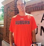 Under Armour Block Auburn Heathered Tech T-Shirt