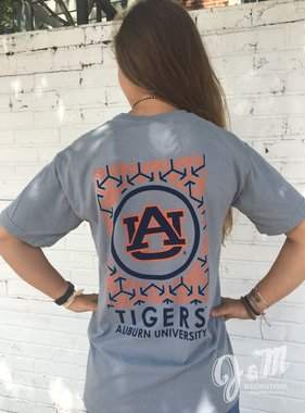 AU Circle Mark Tigers T-Shirt