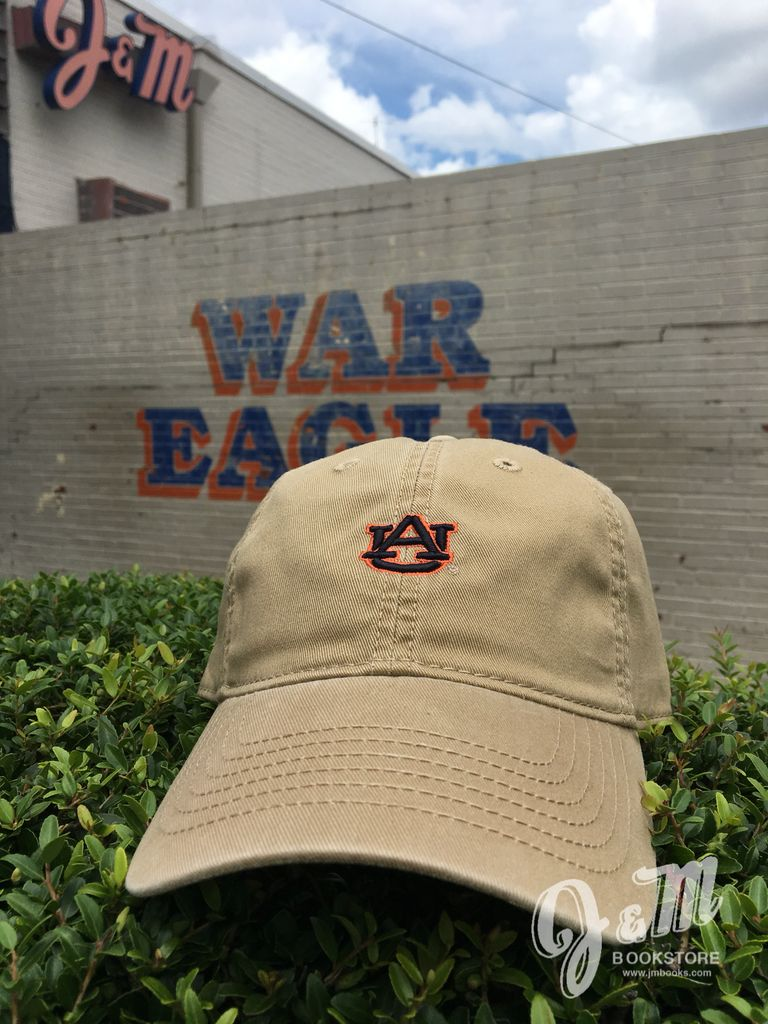 Small AU on Antique Khaki Relaxed Twill Hat