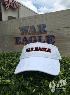 War Eagle Visor, White