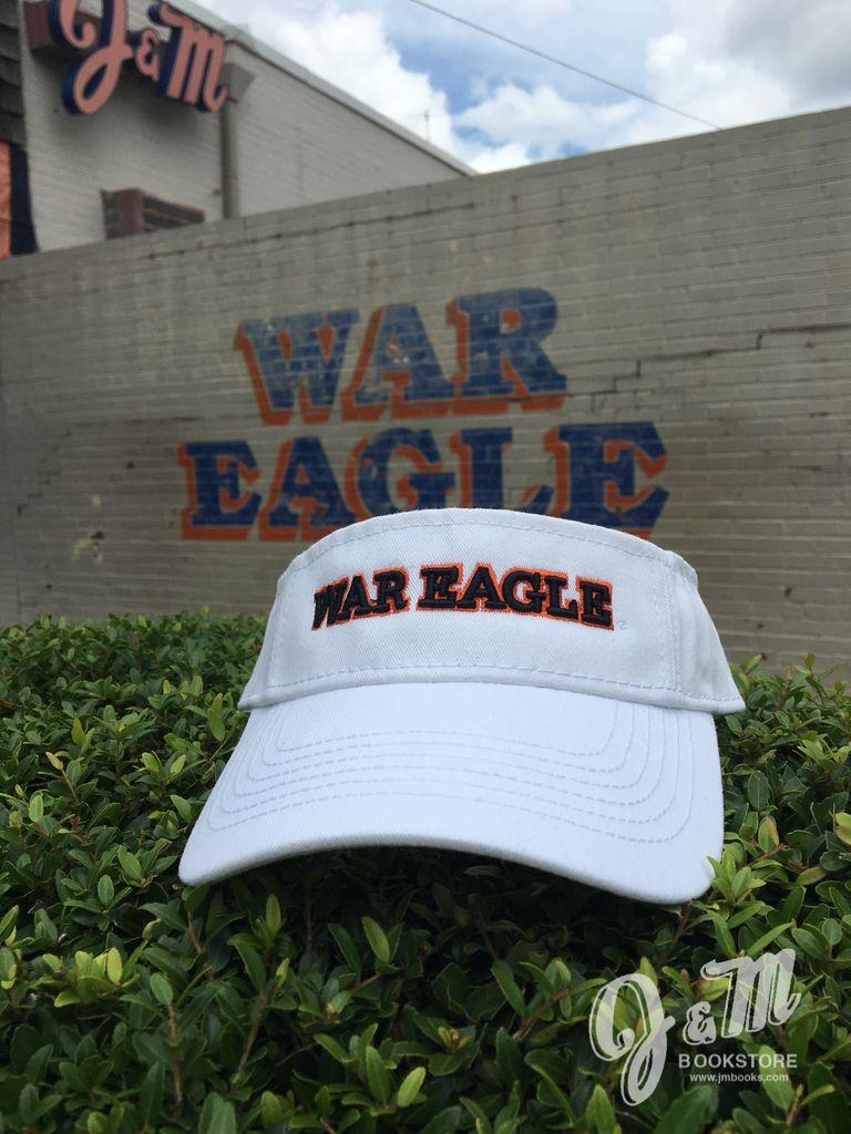War Eagle Visor, White