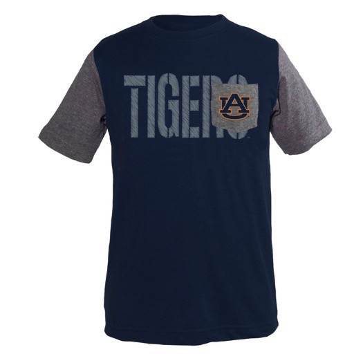 Tigers Two Tone Pocket Youth T-Shirt