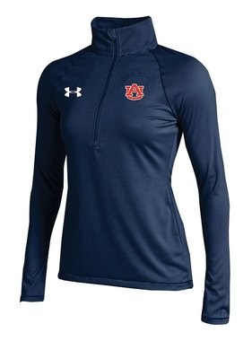 Under Armour AU F16 Womens Stripe Knit 1/4 Zip Pullover