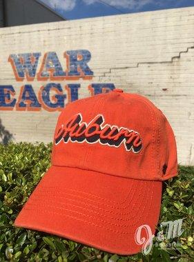 47 Brand Script Auburn Fitted Hat