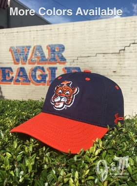 Under Armour Vintage Aubie Head Two Tone Under Armour Youth Hat