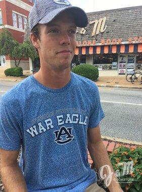 MV Sport Auburn University War Eagle AU Triblend T-Shirt