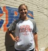 Auburn Tigers 1856 Auburn AL Two Tone T-Shirt