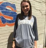 MV Sport Arch Auburn Mason Tri-Blend Raglan T-Shirt