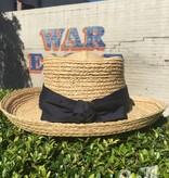AU Ladies Raffia Gambler Straw Hat