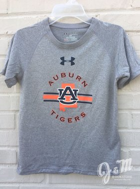 Under Armour Auburn Tigers AU State Stripe Youth T-Shirt