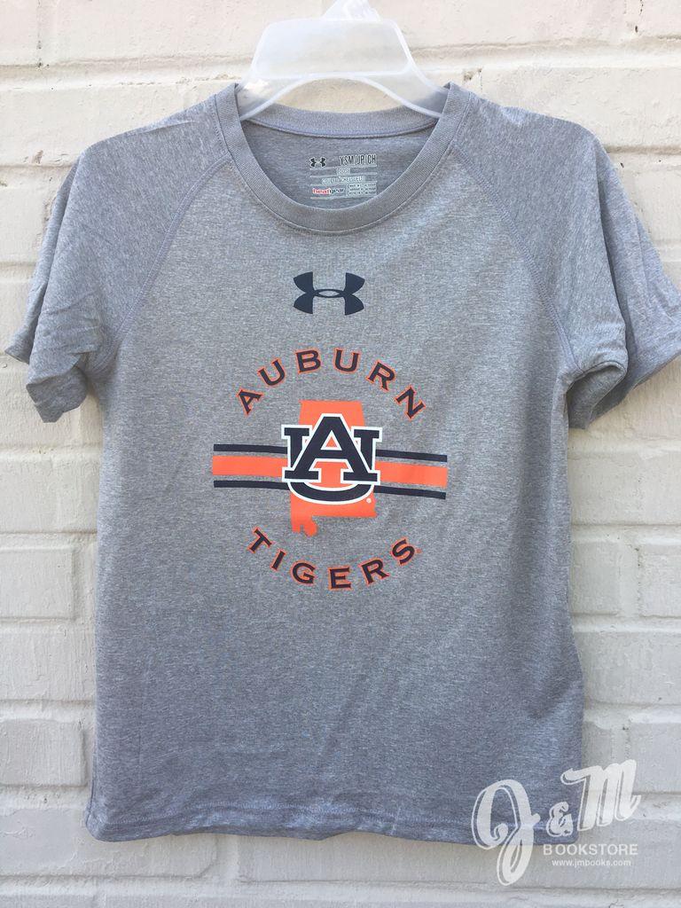 Under Armour Auburn Tigers AU State Stripe Youth T-Shirt