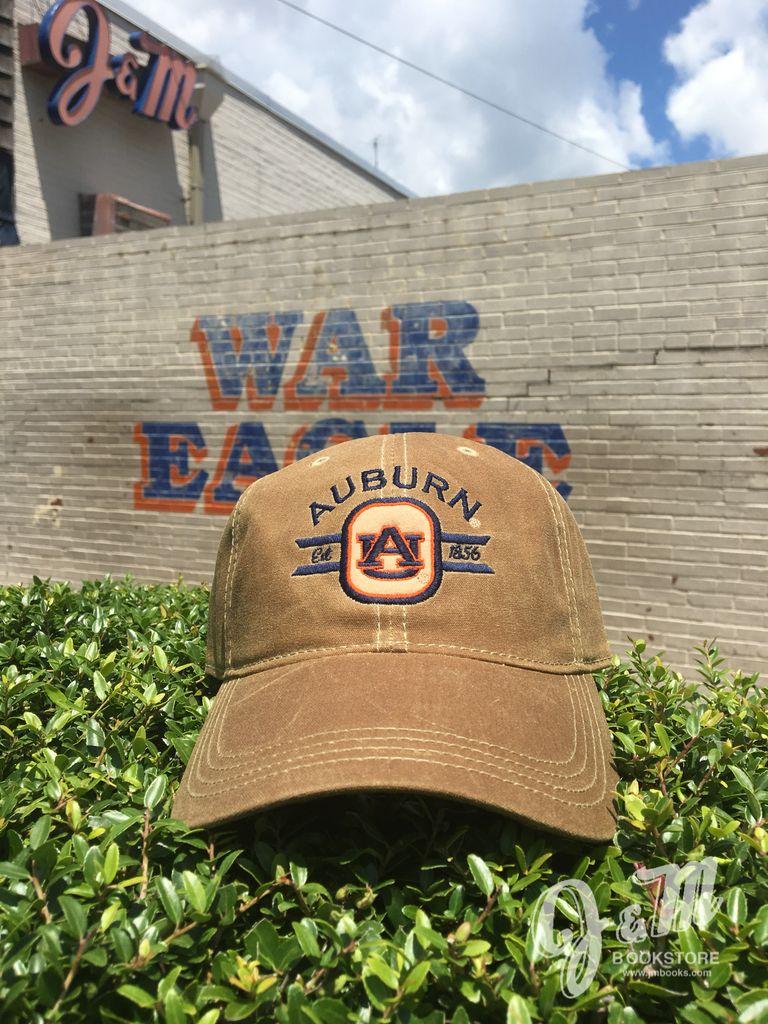 Auburn AU 1856 Wax Cotton Hat