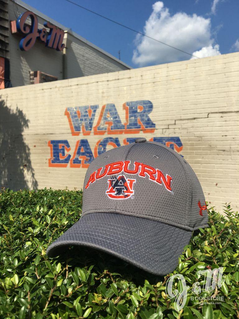 Under Armour Arch Auburn Eagle thru AU Youth Hat