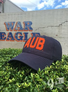 The Game AUB Navy Hat with Felt Letters
