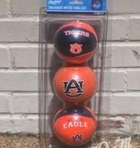 AU Three Point Shot Softee 3 Basketball Set
