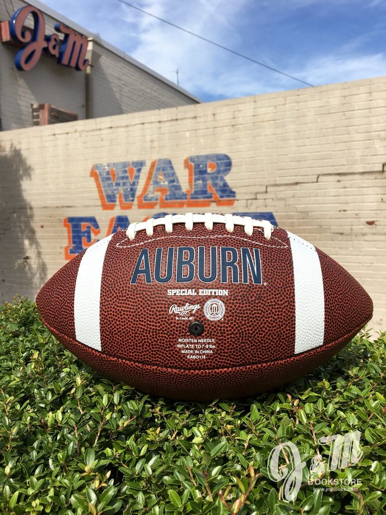 Auburn Leather Full Size Football