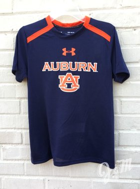 Under Armour Auburn AU Threadborne Youth T-Shirt