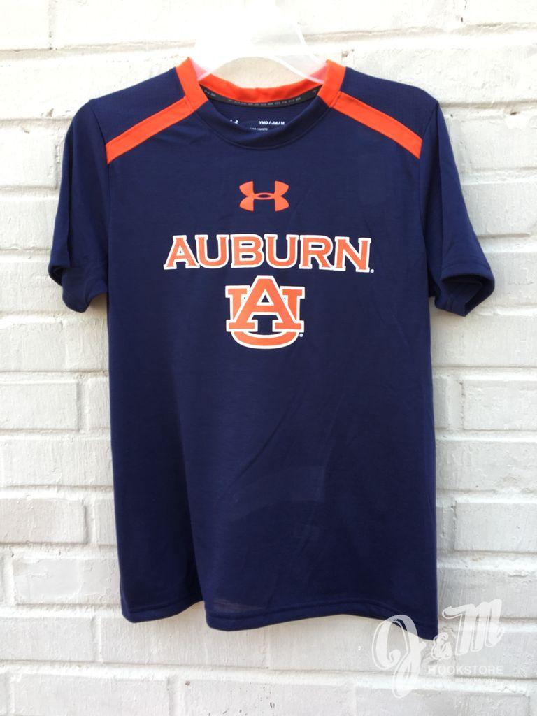 Under Armour Auburn AU Threadborne Youth T-Shirt