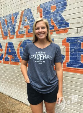 Auburn Tigers 1856 Scoop T-Shirt
